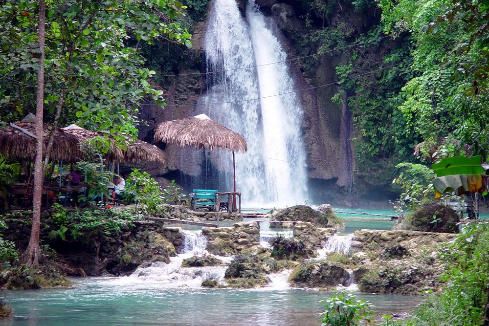 Kawasan Waterfalls in Cebu