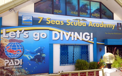 7 Seas Scuba Academy in Cebu
