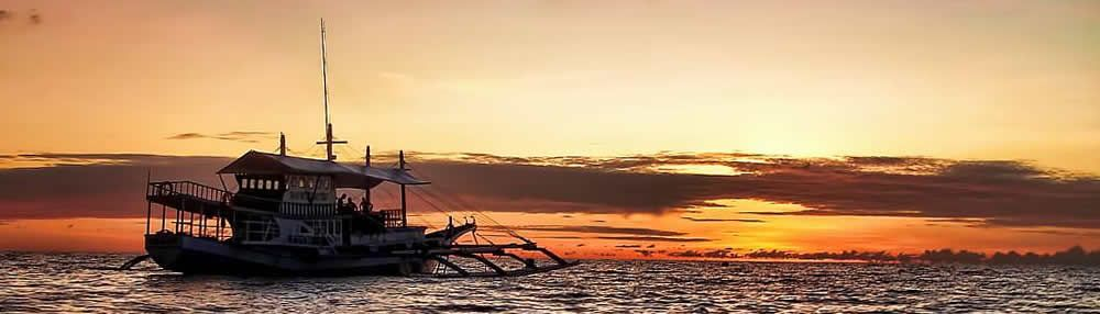 Dive Safaris in the Philippines: We organize dive safaris and island hopping from Cebu via Bohol and Apo Island to Sipalay in Negros and back.