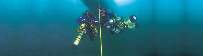 Tec Divers on the PADI TecRec Trimix course