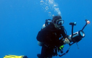 U/W Videographer in Moalboal, Cebu