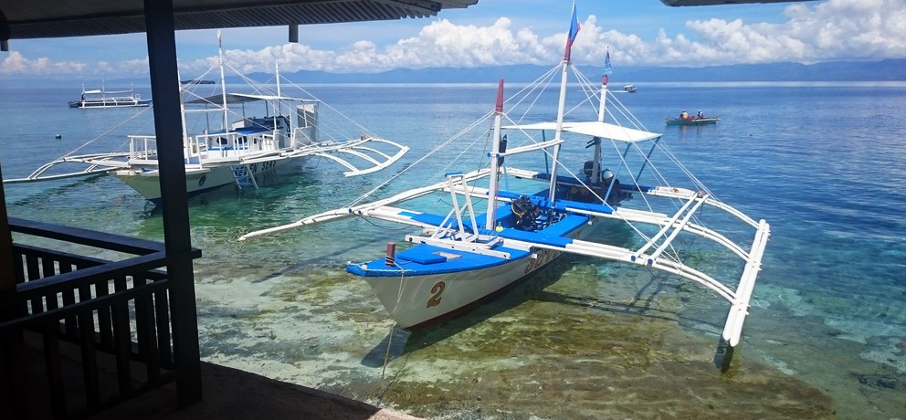 Seaview Beach Resort Accommodation in Moalboal, Cebu, Philippines