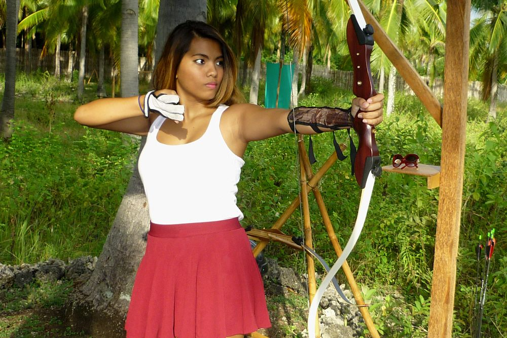 Archery Asia in Moalboal, Cebu